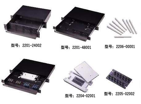 48等不同容量芯数光纤接头