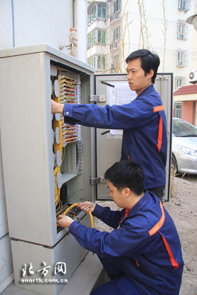 联通加速推进光纤入户工程